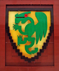 Dragon Shield Mosaic