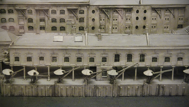 Docklands 19th century model