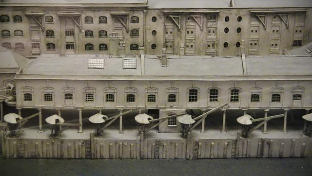 Docklands 19th century model