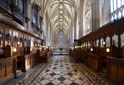 Bristol Cathedral Quire