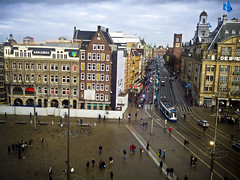 Shot of Dam Square taken with me phone