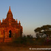 Pagoda in the Late Afternoon - Bagan, Burma