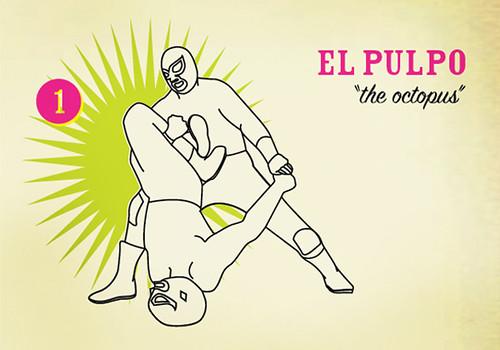 Luchaddys: Techniques: El Pulpo