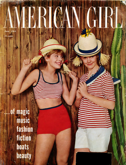 American Girl Magazine Cover June 1964 Flickr Photo