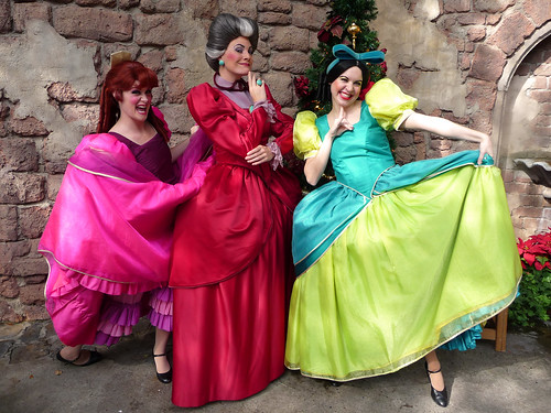 Meeting Lady Tremaine, Anastasia and Drizella