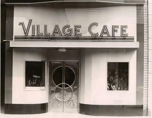 county street ohio st cafe exterior village market east 1940s oh warren trumbull