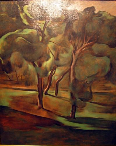 """Olive-Trees"" - Errikos Frantziskakis (1905-1958)"