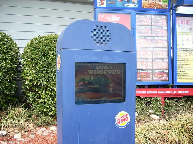 Burger King Drive Thru Speaker Flickr Photo Sharing