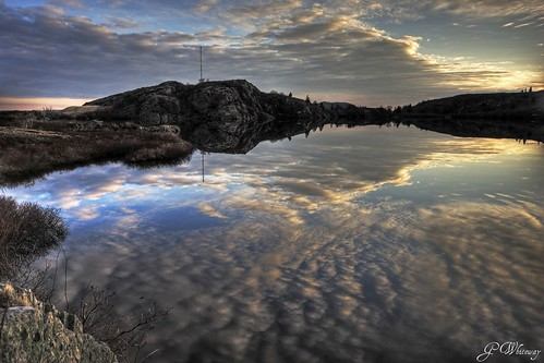 canada reflection nature water clouds sunrise canon newfoundland stjohns reflexions signalhill bej 40d skycloudssun theunforgettablepictures georgespond platinumheartaward