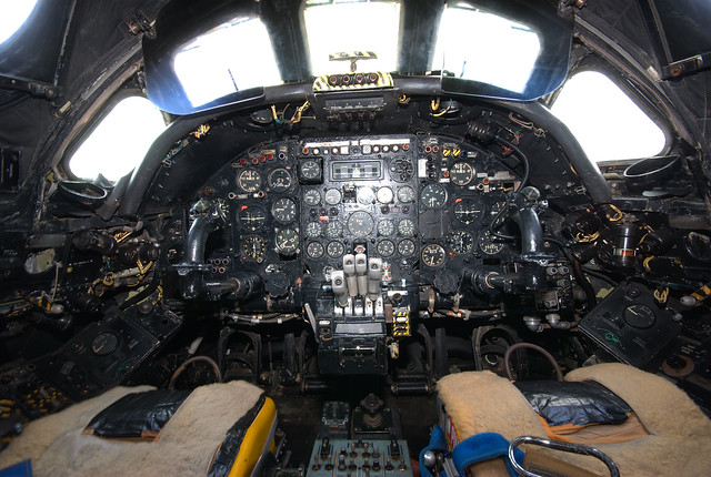 Avro Vulcan B2 XL360 cockpit | Flickr - Photo Sharing!