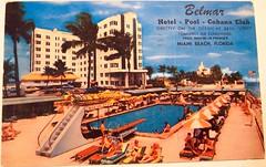 Vintage Postcard - Belmar Hotel, Miami Beach, Florida