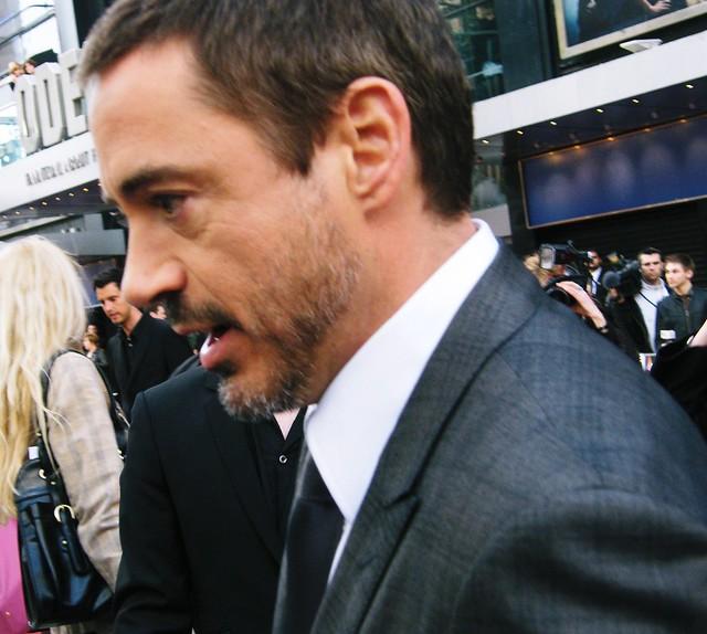 Robert Downey Junior Ironman Premiere | Flickr - Photo Sharing! Robert Downey