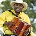 Jeffery Broussard and the Creole Cowboys at 2009 Breaux Bridge Crawfish Festival