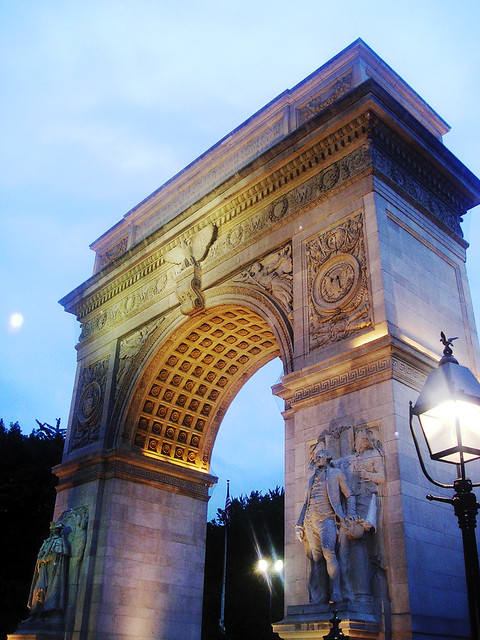Arch at Washington Square Park I