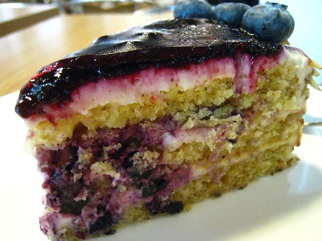 blueberry maple cake deliciously moist wholewheat cake with fresh ...
