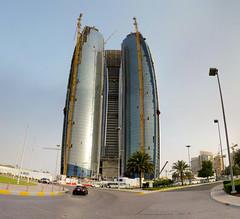 Abu Dhabi - Etihad Towers - 24-04-2010 - 17h40
