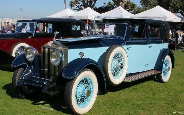 1930 Rolls-Royce Phantom II Windovers Sedanca de Ville - fvl