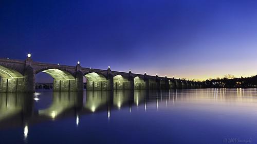 longexposure bridge dusk marketstreet harrisburg mywinners abigfave theunforgettablepictures