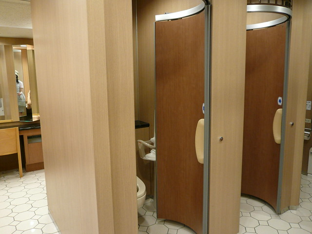 Well designed toilet doors flickr photo sharing for Well designed bathrooms
