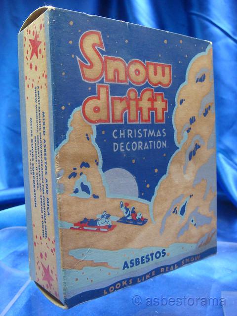 Vintage Box Asbestos Snow Drift Flickr Photo Sharing