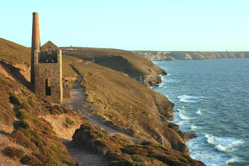Wheal Coates, near St.Agnes by Stocker Images