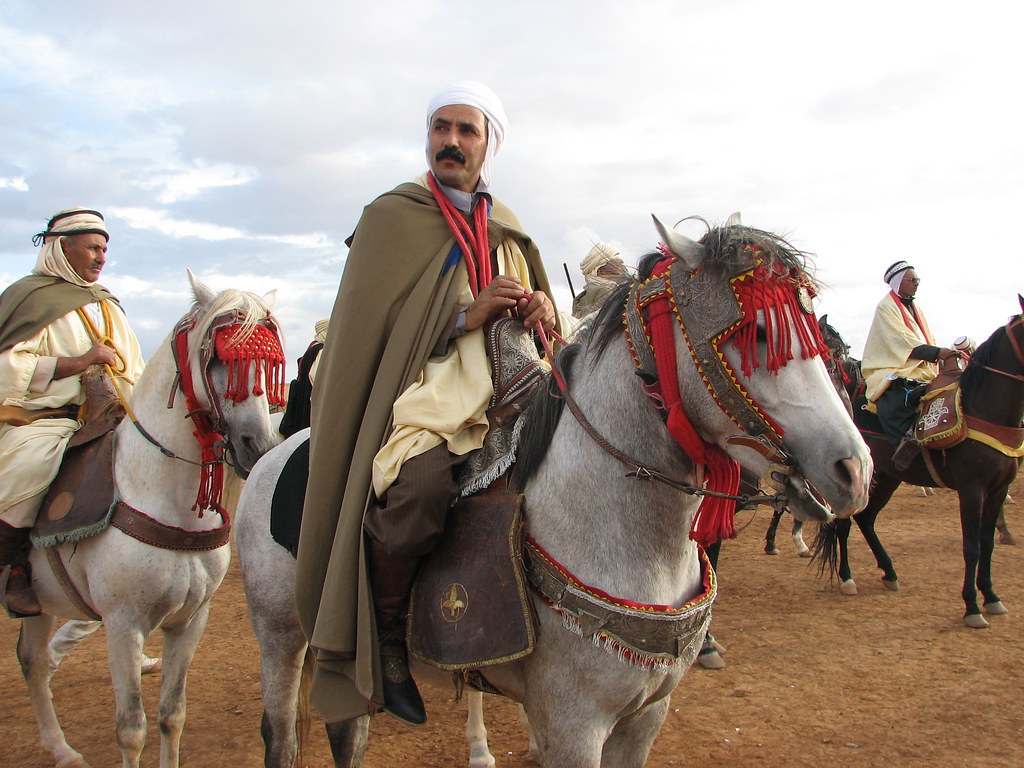 فارس من جبال عمور أفلو