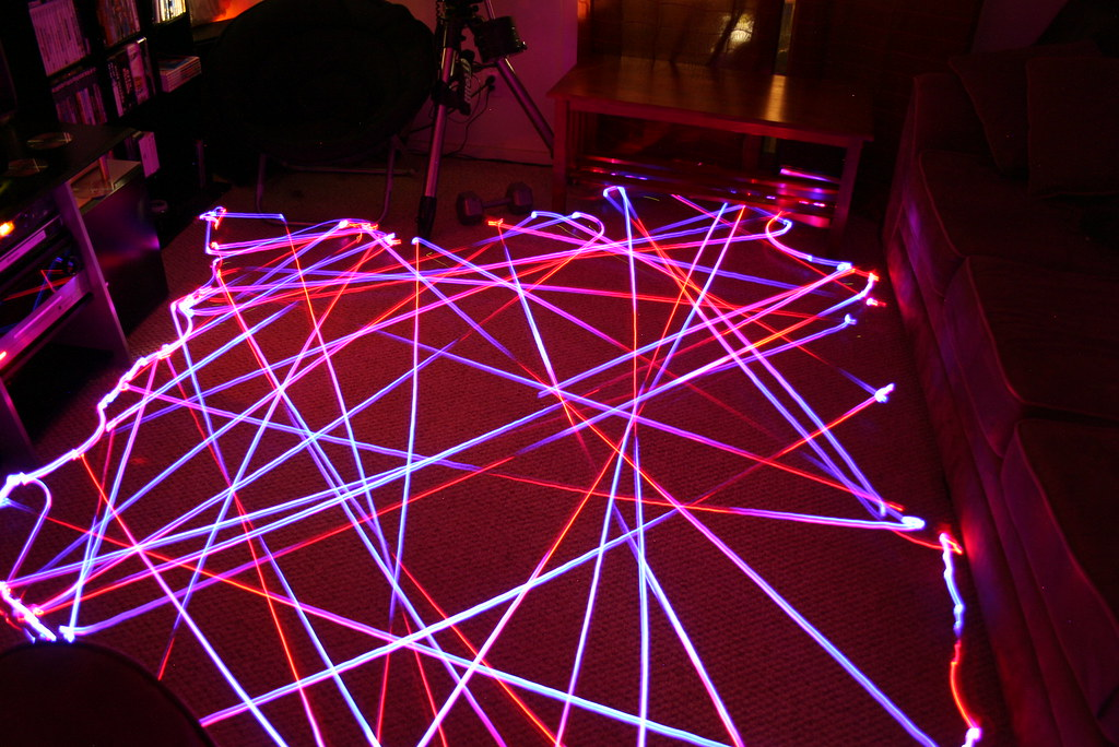 Cool Room Lighting this is what happens when you put leds on a roomba «twistedsifter
