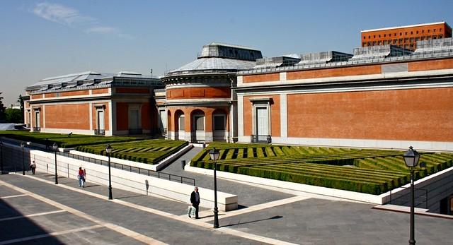 Museo del prado desde la calle ruiz de alarc n madrid for Hoteles en la calle prado de madrid