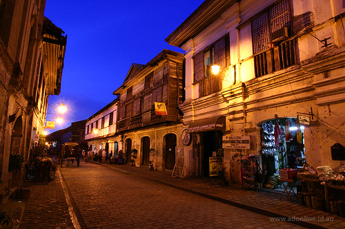 Calle Crisologo at Dusk