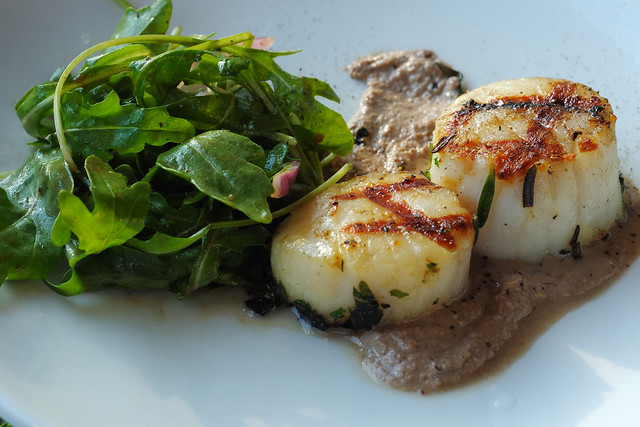 Grilled Scallops at Avo | Flickr - Photo Sharing!