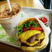 Shake Shack Double Cheeseburger w/ Shacky Road Shake