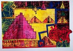 monoprint collages