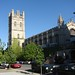 Small photo of Mitchell Tower and Hutchinson Commons, University of Chicago