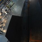 Steven F. Udvar-Hazy Center: SR-71 Blackbird top view panorama