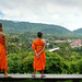 Little monks at Wat Pa Phon Phao