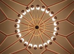 Lampe im Roten Rathaus