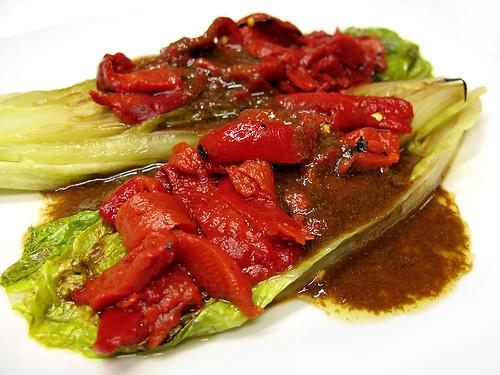 grilled romaine hearts  |  corazones de lechuga a la parrilla