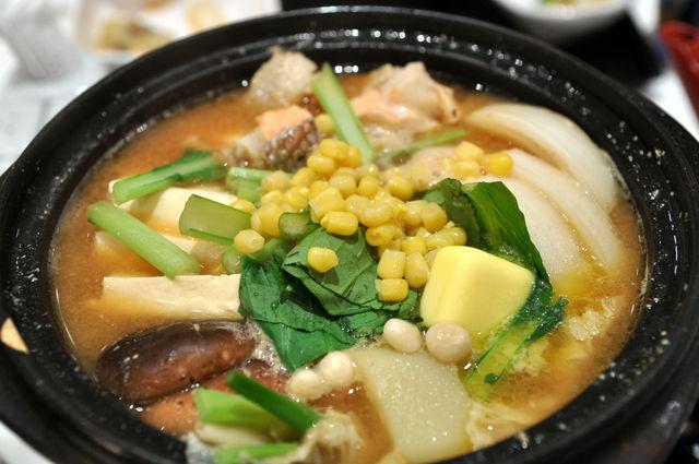 日式蓋飯-北海道石狩鍋 NT$270