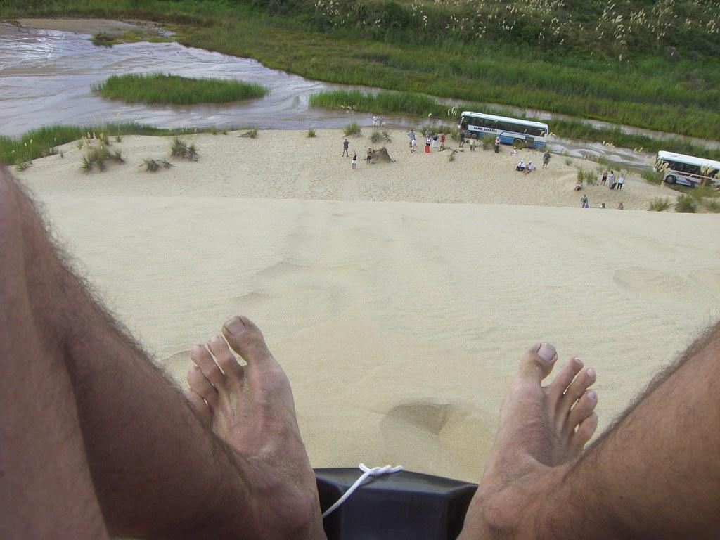 Sandsurfing - Cape Reinga - Northland - New Zealand 008