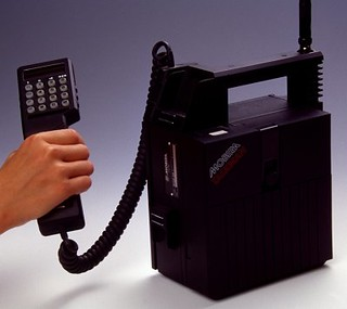 Mobira Cell Phone - 1984
