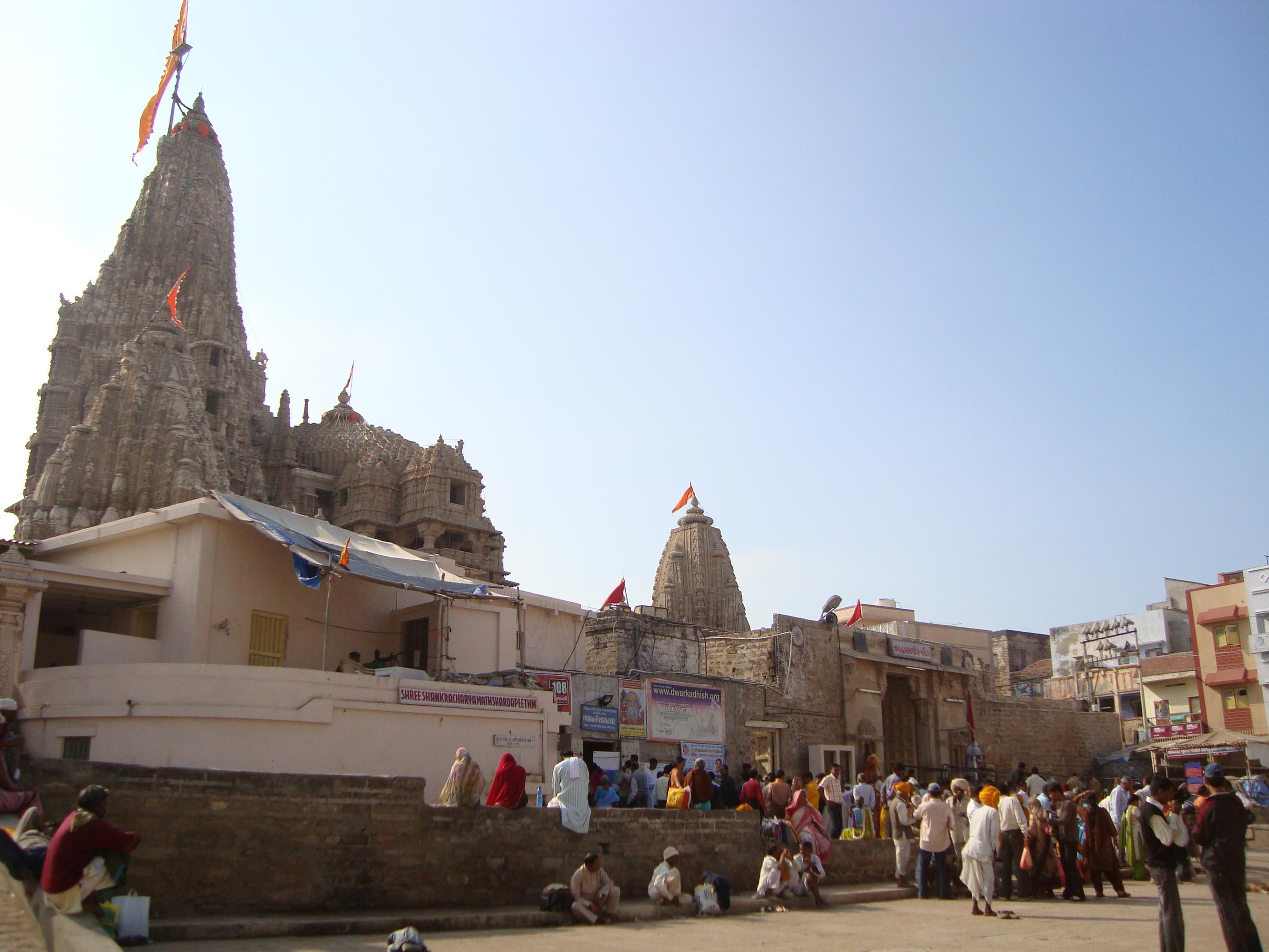 dwarka krishna temple gujarat india flickr photo