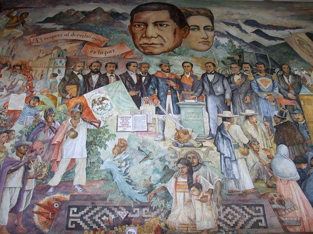 Benito juarez mural flickr photo sharing for Benito juarez mural