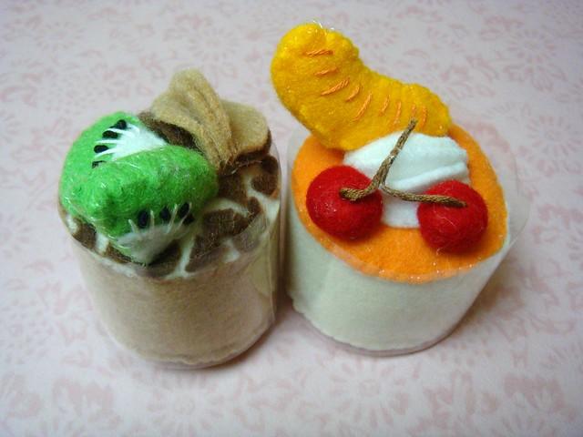 Felt - Mini Fresh Fruit Mousse Creamy Cakelets | Flickr - Photo ...