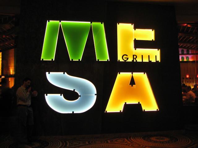 Dinner at Mesa Grill