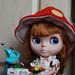 Kozy Kape In Mushroom suit by T.G.L