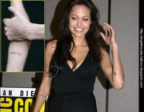 Angelina Jolie Tattoos on Angelina Jolie Tattoos   Flickr   Photo Sharing