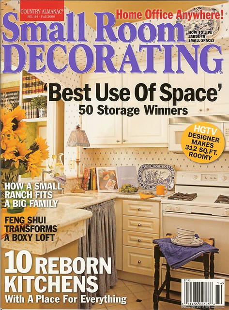 As Seen In Cosmopolitan Home And Small Room Decorating