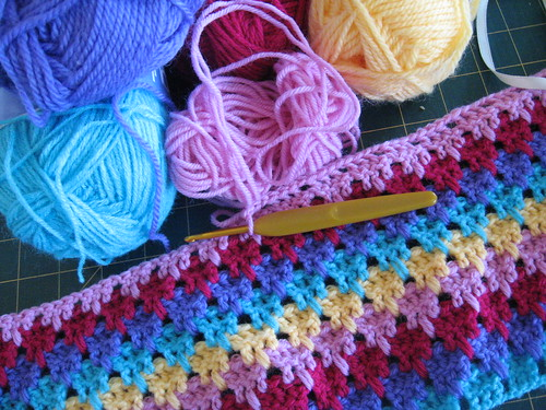Larksfoot - April Hip to Hook stitch pattern