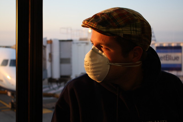 114/365 : Swine Flu Mask