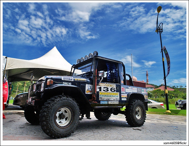 Explore - Hilux Road Show - 1Borneo Kota Kinabalu Land Cruiser BJ43